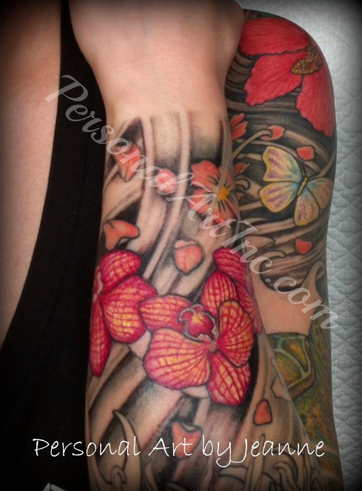tattooed forearm