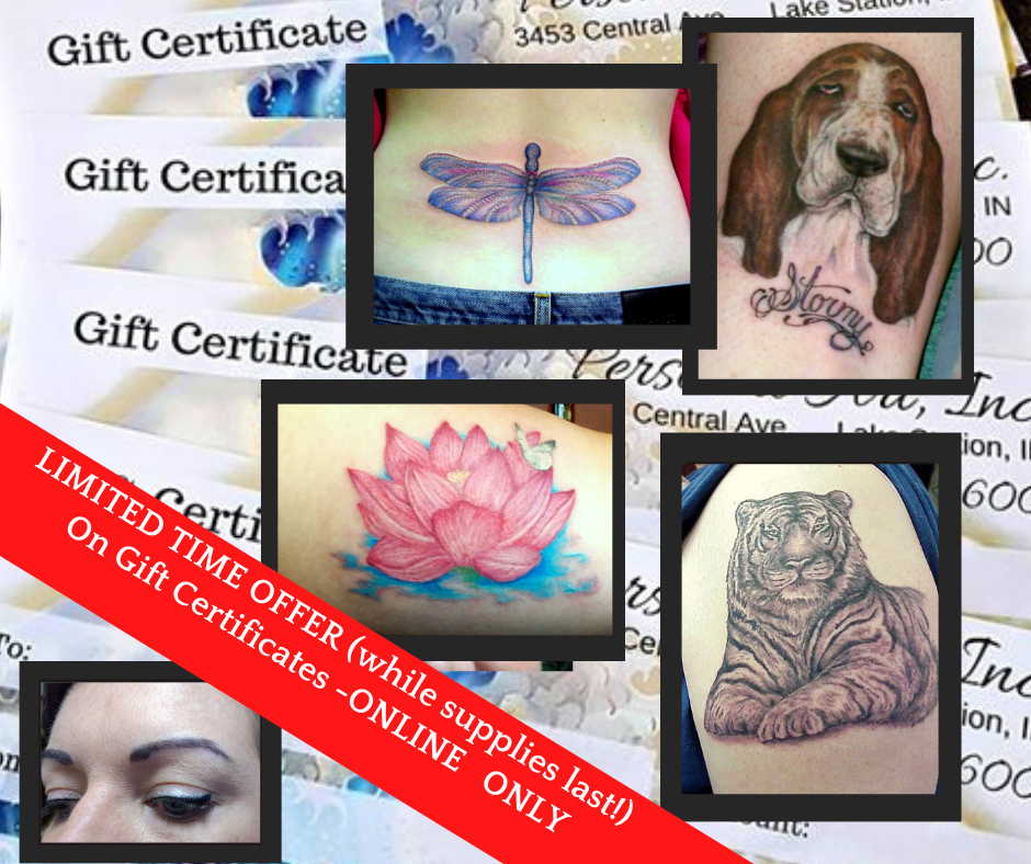 special gift certificate holiday offer for Personal Art