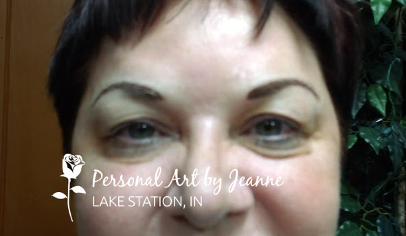 permanent eyebrows by Jeanne ta Personal Art, Inc.